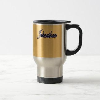 Taza de oro del acero inoxidable de Johnathan