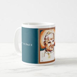 Taza de papa San Juan Paulo II