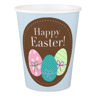 Taza de papel con los huevos de Pascua Vaso De Papel