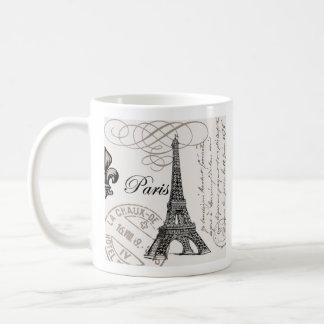 Taza de París del vintage…