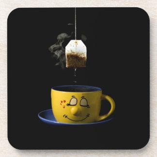 Taza de prácticos de costa del té posavasos