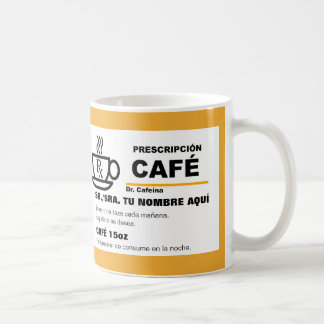 Taza de Prescripción de Café