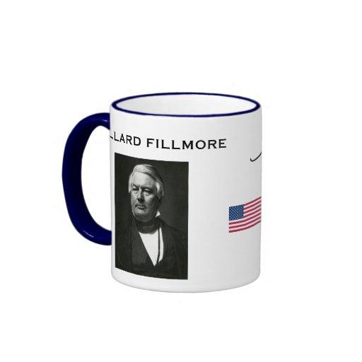 Taza de presidente Millard Fillmore
