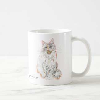 Taza de príncipe Robin Cat Collage