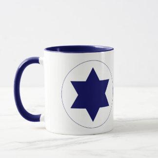 Taza de Roundel de la fuerza aérea de Israel