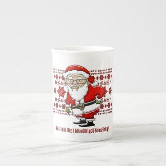 Taza de Santa que imita