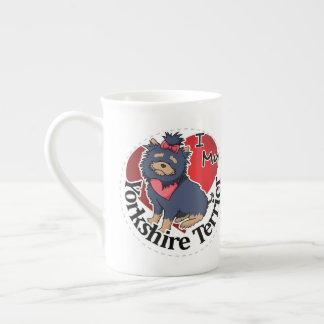 Taza De Té Amo mi Yorkshire divertido y lindo adorable feliz