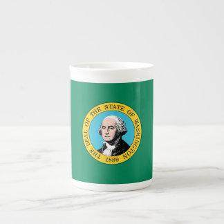 Taza De Té Bandera del estado de Washington
