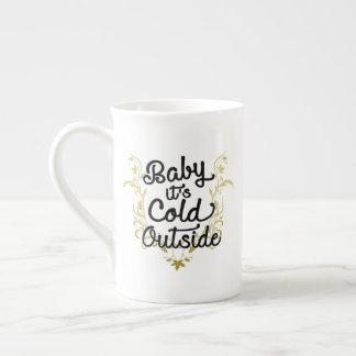 Taza De Té Bebé es exterior frío