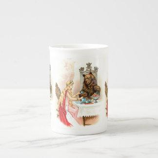 Taza De Té Belleza en rosa y la bestia