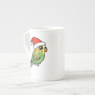 Taza De Té Budgerigar Papá Noel