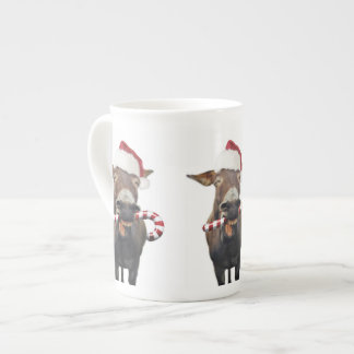 Taza De Té Burro del navidad - burro de santa - burro santa