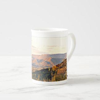 Taza De Té Café del paisaje de la cala de la cueva/taza de té