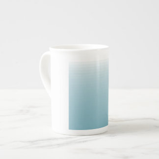 taza de té de encargo de la porcelana de hueso