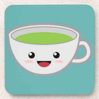 Taza de té de Kawaii Posavasos