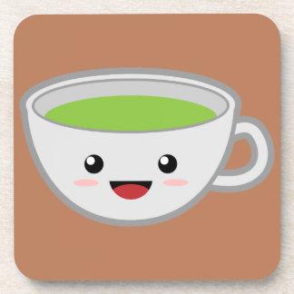 Taza de té de Kawaii Posavasos De Bebida
