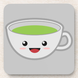 Taza de té de Kawaii Posavasos De Bebidas