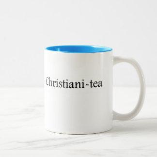 taza de té del Christiani-té