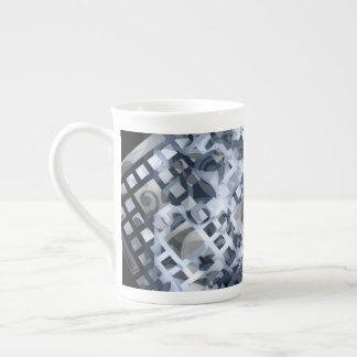 Taza De Té Enrejado azul