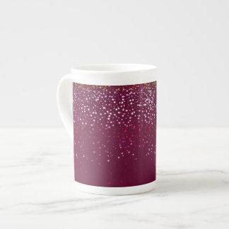 Taza De Té Estrella-Vino Taza-Menudo de la baya de la