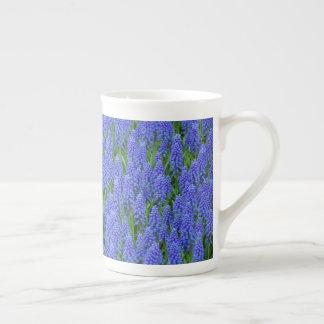 Taza De Té Flores azules del muscari