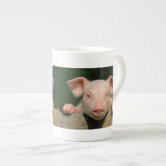 Taza De Té Granja de cerdo - cara del cerdo