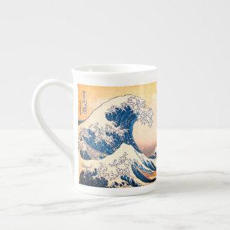 Taza De Té La gran onda de Kanagawa