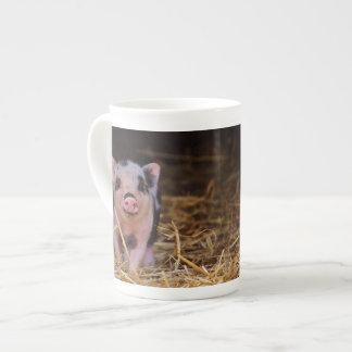 Taza De Té mini cerdo