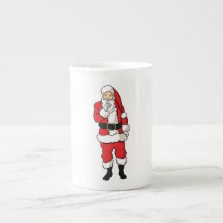 Taza De Té Navidad Papá Noel