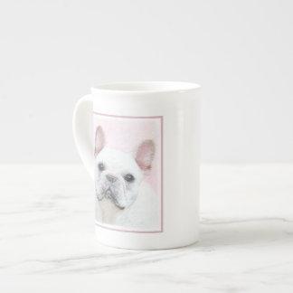 Taza De Té Pintura del dogo francés (crema/blanco) - persiga
