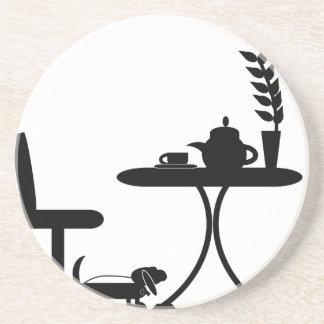 Taza de té posavasos para bebidas