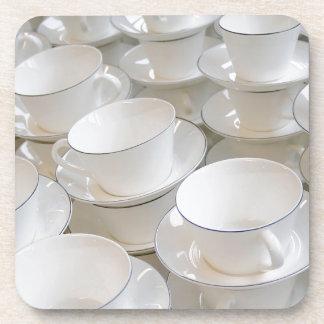 Taza de té posavasos