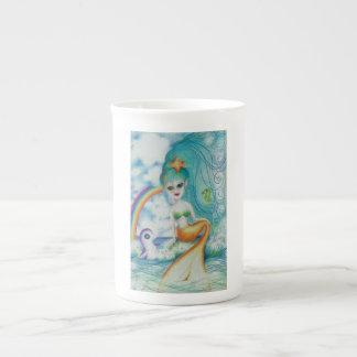 Taza De Té ¡Sirena mística mágica!