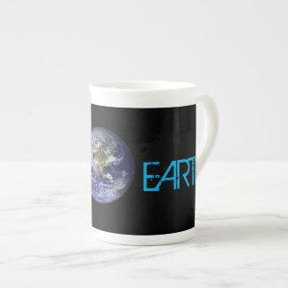 Taza De Té Tierra del planeta