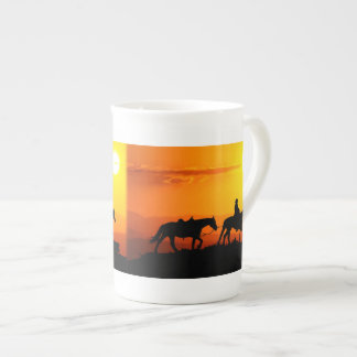 Taza De Té Vaquero-Vaquero-Tejas-occidental-país occidental