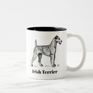 Taza de Terrier irlandés