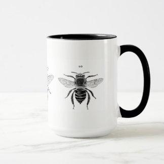 Taza de tres abejas