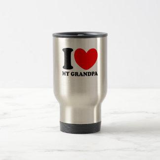 Taza De Viaje Amo a mi abuelo