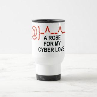 Taza De Viaje Amor cibernético