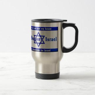 Taza De Viaje Apoyamos Israel