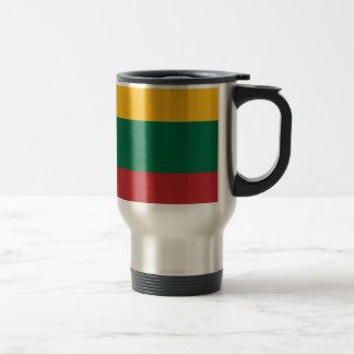 Taza De Viaje ¡Bajo costo! Bandera de Lituania