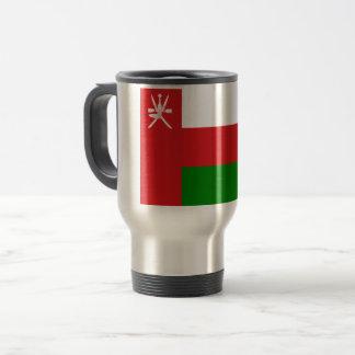 Taza De Viaje ¡Bajo costo! Bandera de Omán