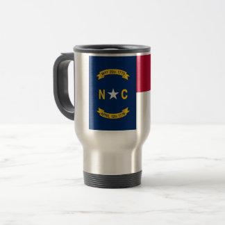 Taza De Viaje Bandera de Carolina del Norte