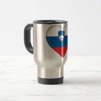 Taza De Viaje Bandera de Eslovenia