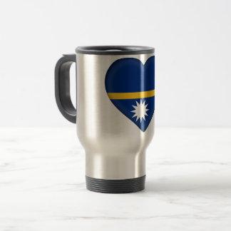 Taza De Viaje Bandera de Nauru