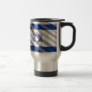 Taza De Viaje Bandera internacional Israel