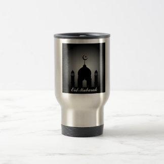 Taza De Viaje Bóveda de la mezquita y silueta del alminar