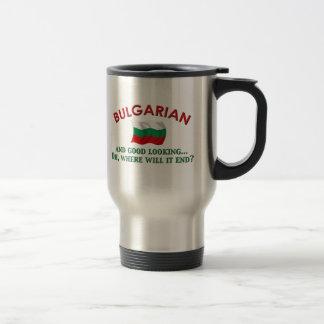 Taza De Viaje Búlgaro apuesto