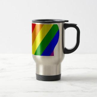 Taza De Viaje Cabeza del arco iris