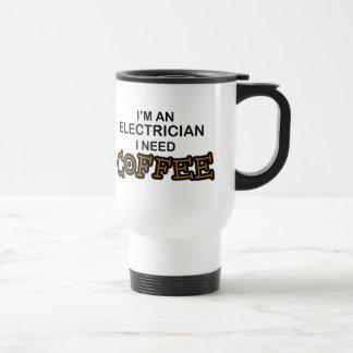 Taza De Viaje Café de la necesidad - electricista